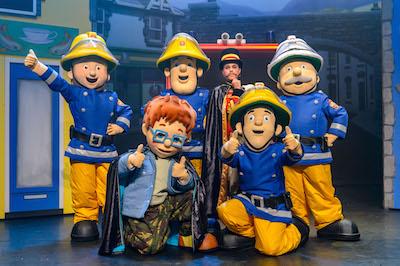 Brandweerman Sam Live 2016 Teamfoto l kopie