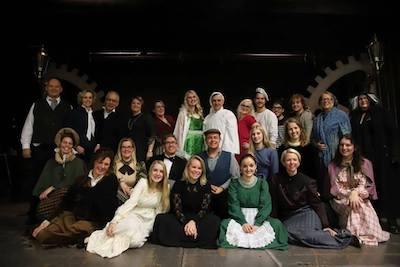 Groepsfoto AZOV Musicals foto Dennis Phillippi kopie
