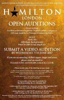 hamilton auditions