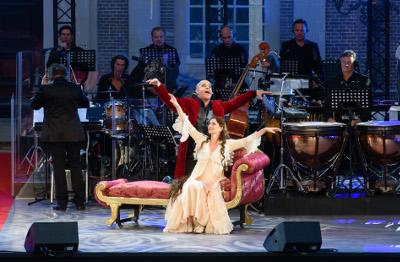 Elisabeth in Concert Pia Douwes en Stanley Burleson