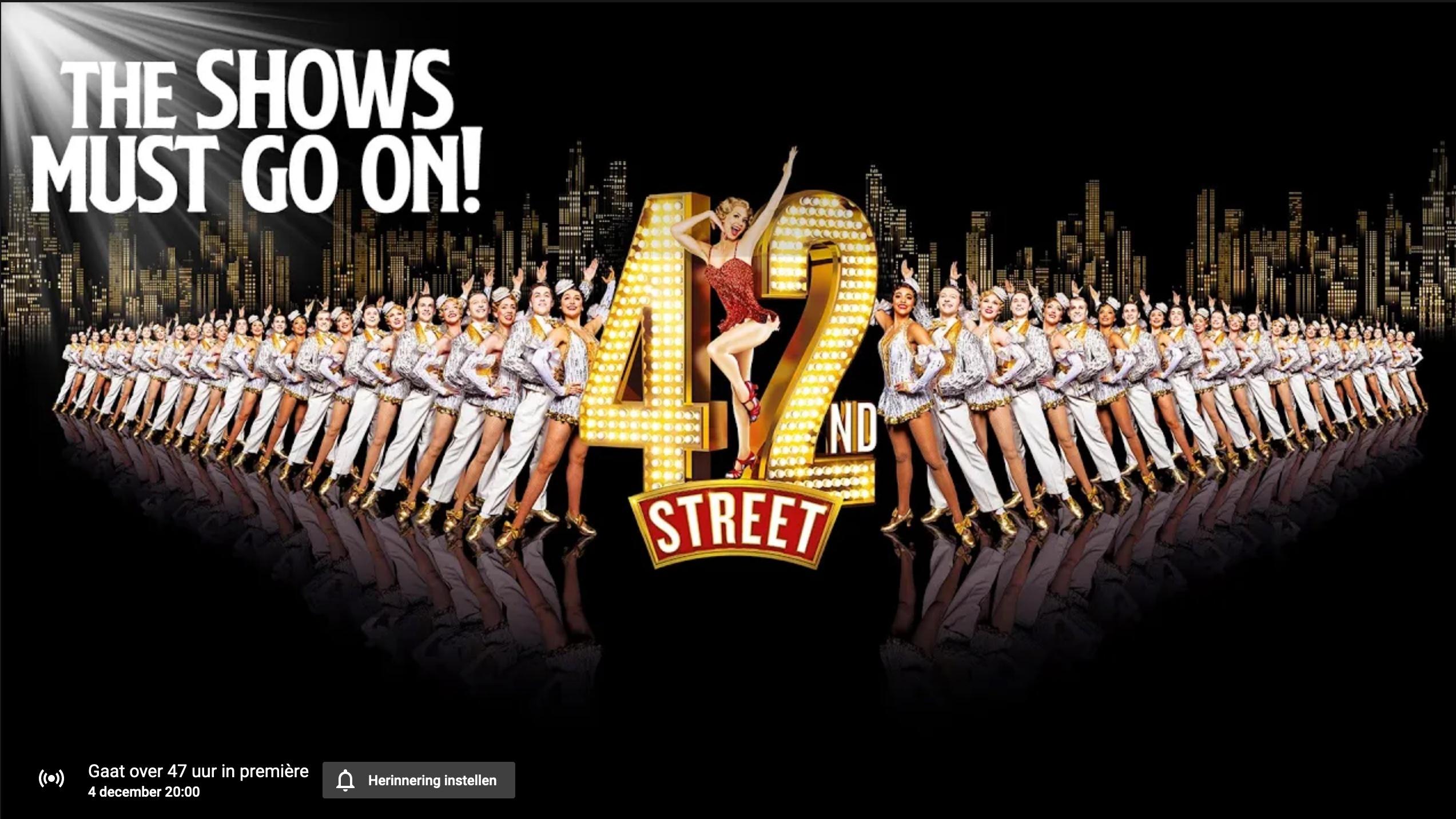 musical 42nd street